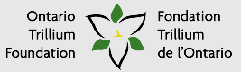 Image of the Ontario Trillium Foundation Logo